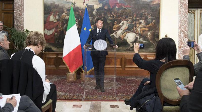 Matteo Renzi, Italie, référendum, Paolo Gentiloni