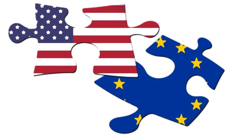 Relations transatlantiques, états unis, union européenne, atlantisme