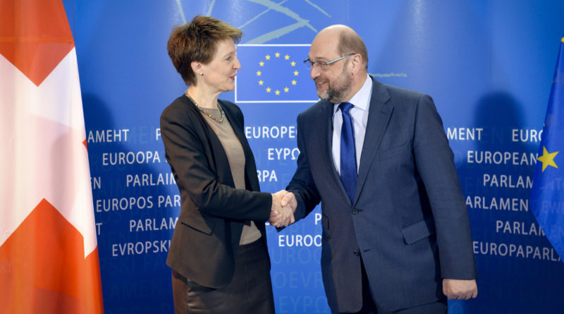 Simonetta Sommaruga, Suisse, helvète, Martin Schulz