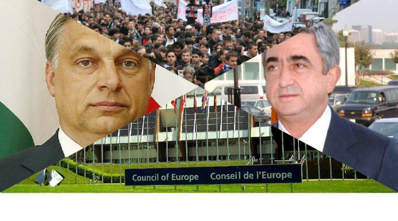 Mobilisation, Hongrie, Arménie, Orban, Conseil de l'Europe, France