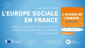 europe sociale en France