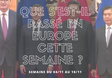 Que s'est-il passé en Europe cette semaine ? (4.11 – 10.11.2019)