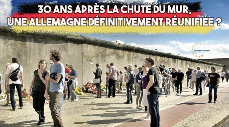 30 ans chute du mur de Berlin