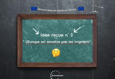 Idée reçue n°2 : « l'Europe est envahie par les migrants »